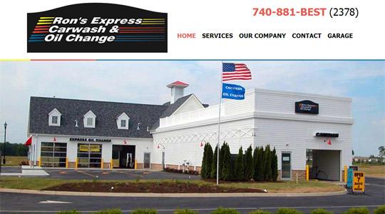 ronsexpress homepage