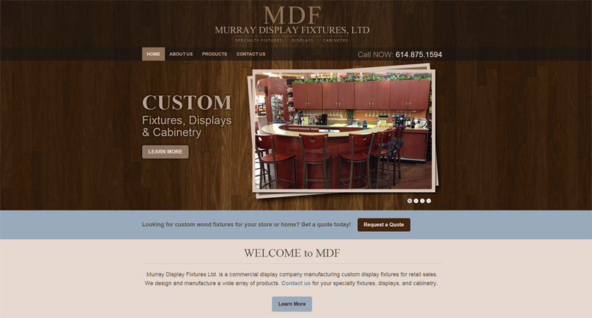 MDF Home page
