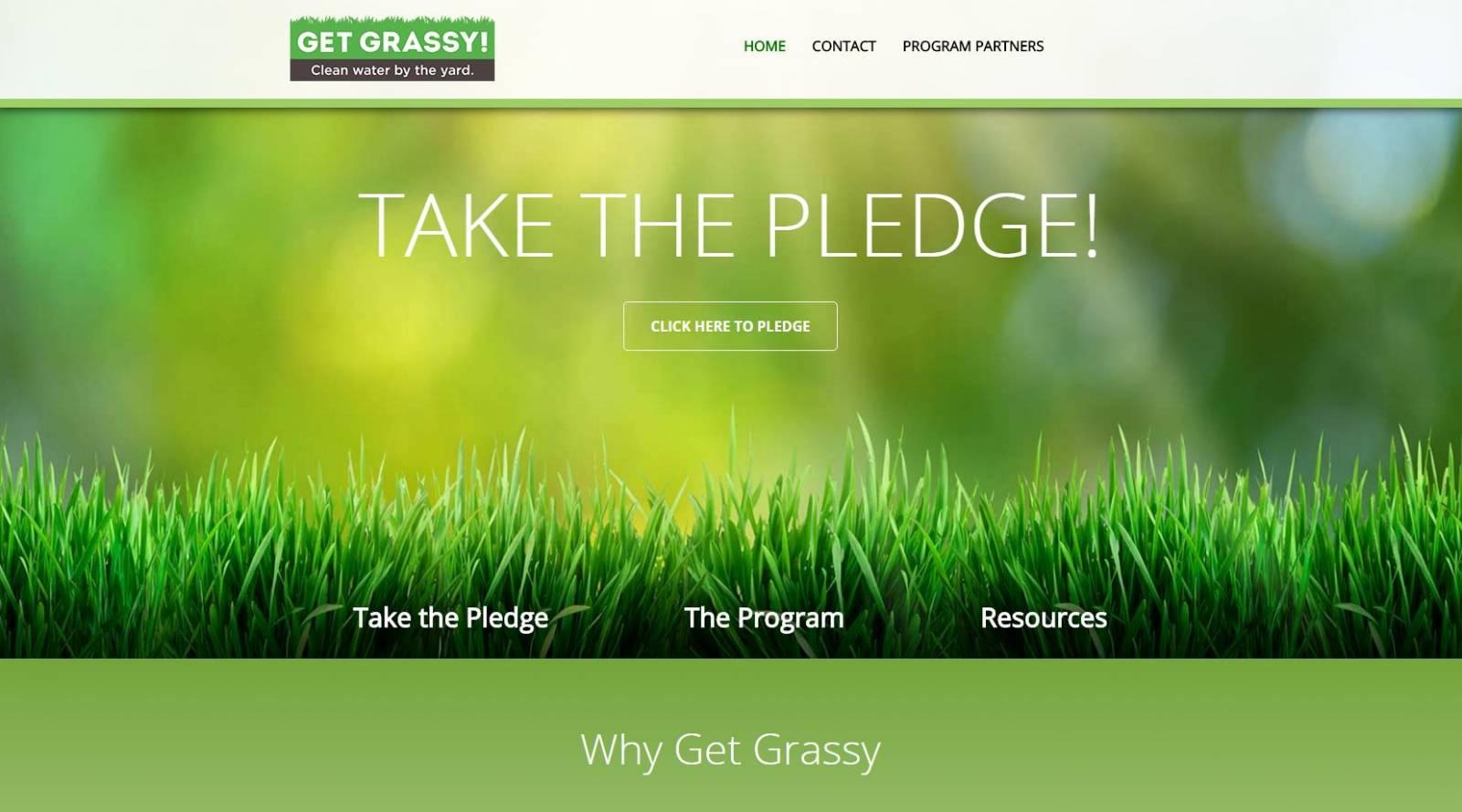 get grassy