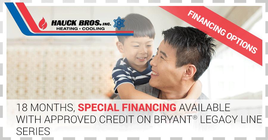 Hauck Bros Inc 18 month financing