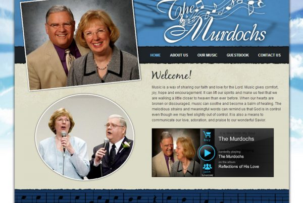 The Murdochs music website