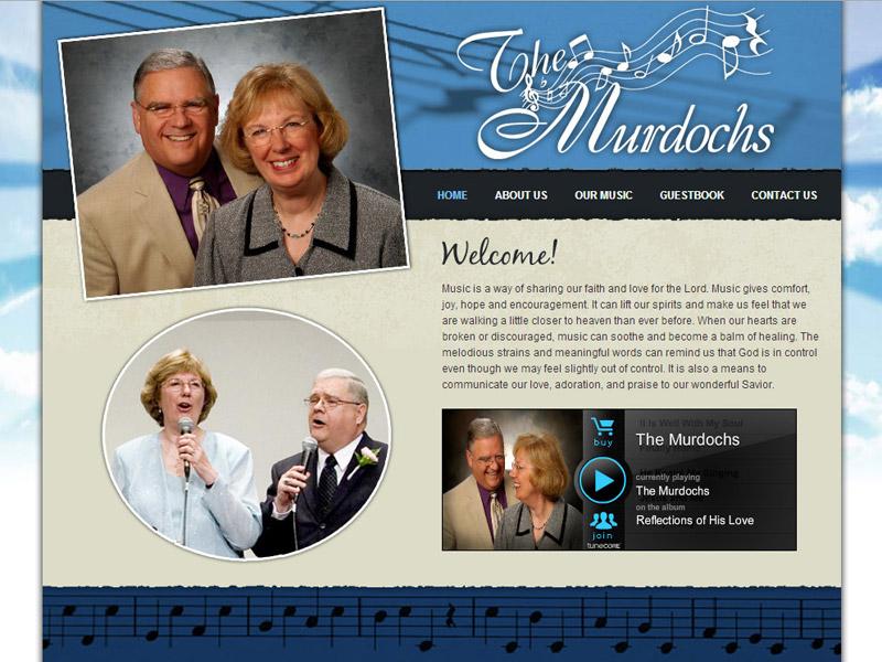 The Murdochs music website