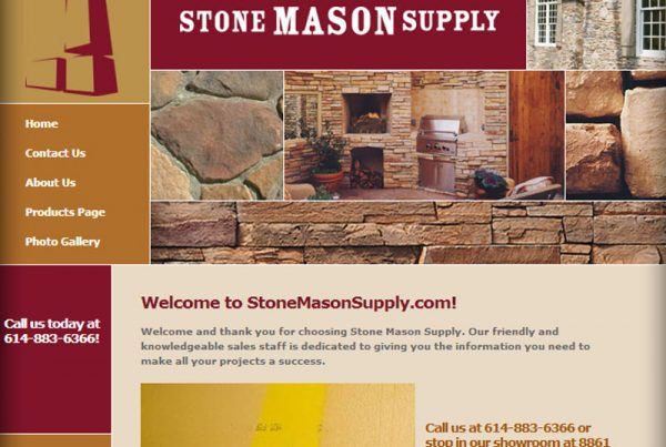 Stone Mason Supply business website