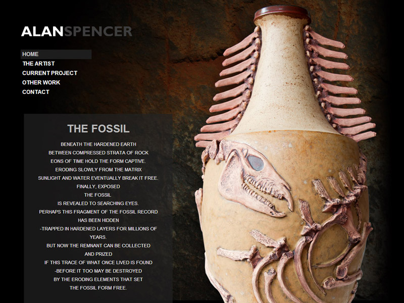 Alan Spencer - Artist Website