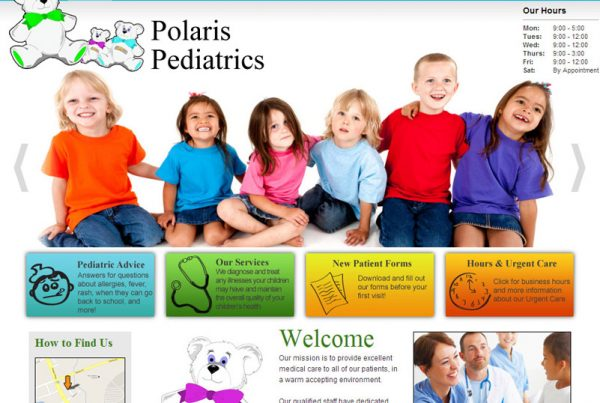 Polaris Pediatrics - Pediatrics Website