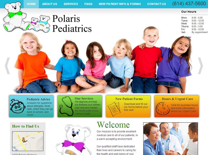 Polaris Pediatrics - Pediatrics Website