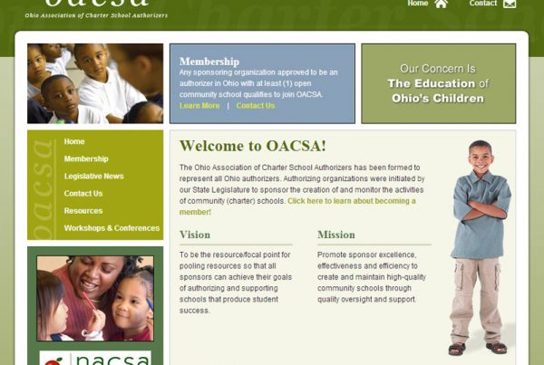Ohio Association of Charter School Authorizers Education Website