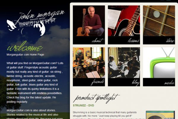 Morgan Guitar - Guitar Education and Online Store