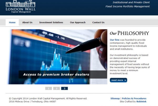 London Wall Capital Management a financial firm website
