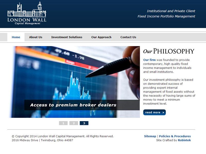 London Wall Capital Management a financial firm website