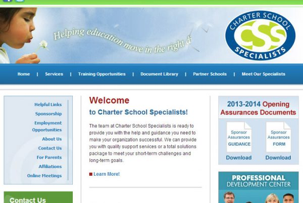 Charter School Specialists education website