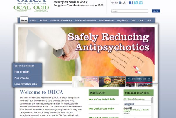 Ohio Health Care Association an online education and event registration website