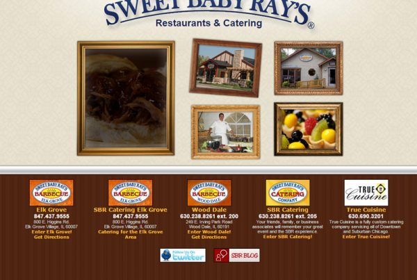Sweet Baby Ray's restaurant and catering