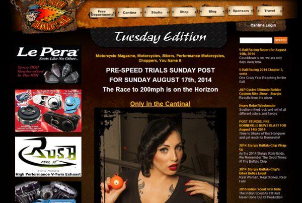 Bikernet an online magazine website