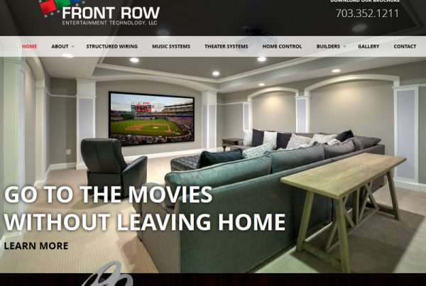 Front Row Entertainment Technology LLC entertainment website