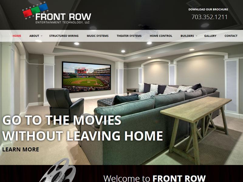 Front Row Entertainment Technology LLC entertainment website