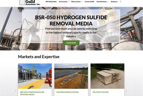 Guild Associates Website Design