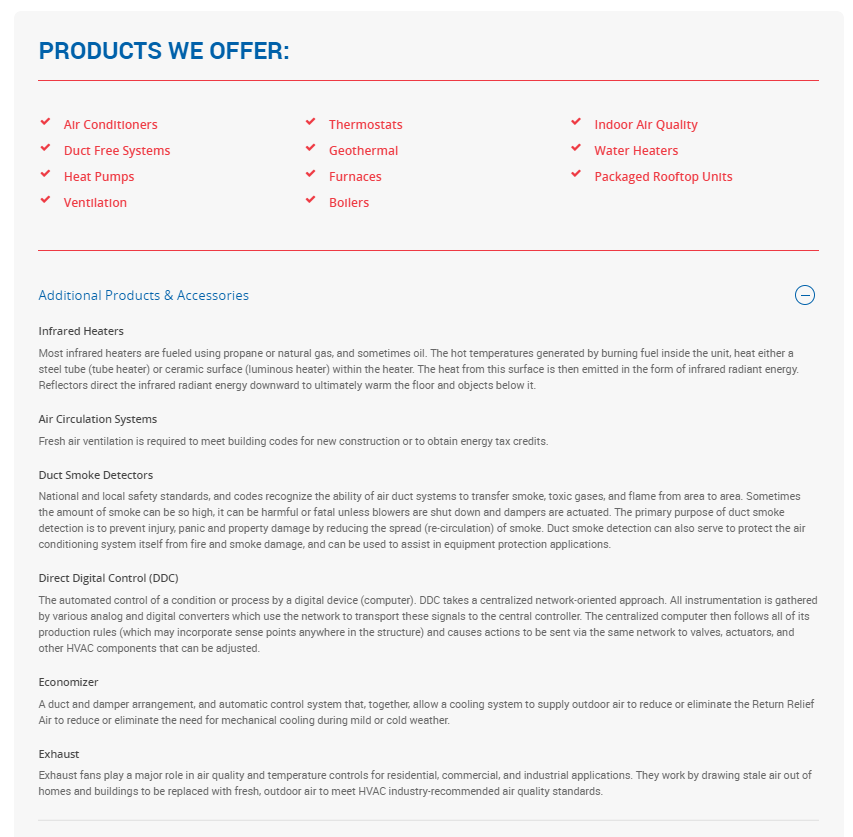 hauck bros commercial services page