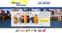 Patron Vending - Vending Service Website`