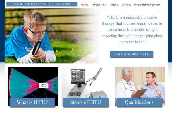 Riverside Urology HIFU - Men's Health Website