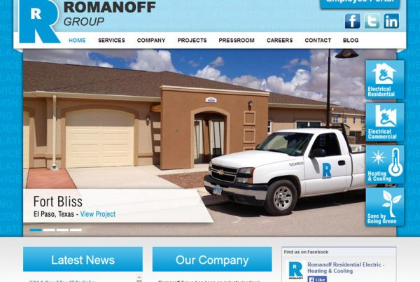 The Romanoff Group - Business Website