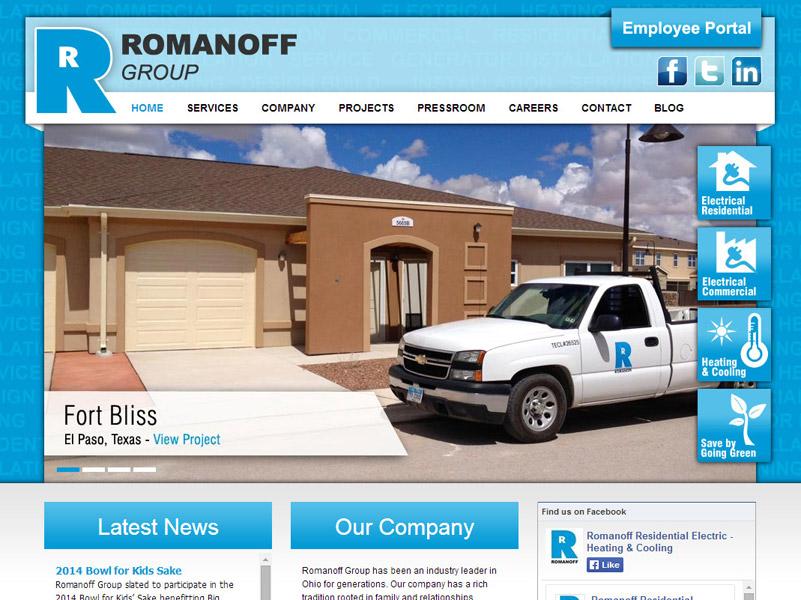 The Romanoff Group - Business Website