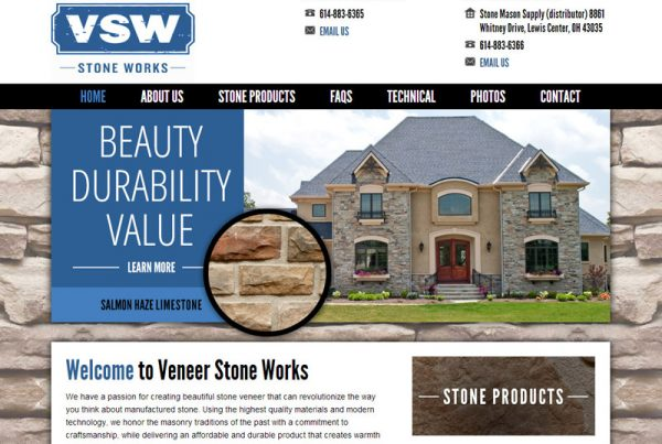 Veneer Stone Works - Stone Manufacturing Website