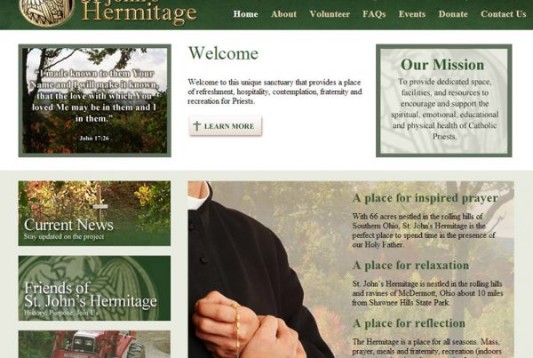 St. John's Hermitage - Religious Sanctuary Website