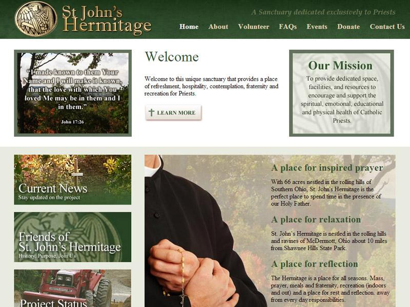 St. John's Hermitage - Religious Sanctuary Website