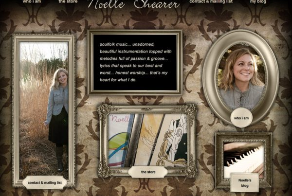 Noelle Shearer - Musician Website