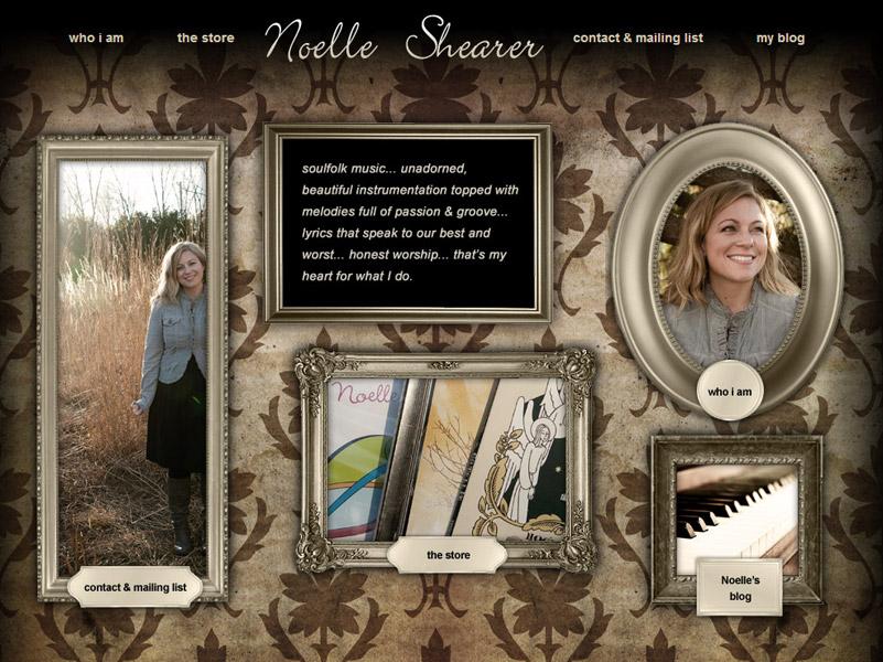 Noelle Shearer - Musician Website