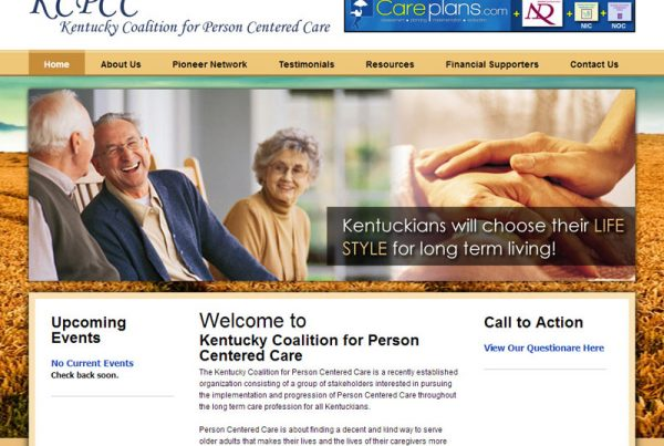 Kentucky Coalition for Person Centered Care - Care Giving Website