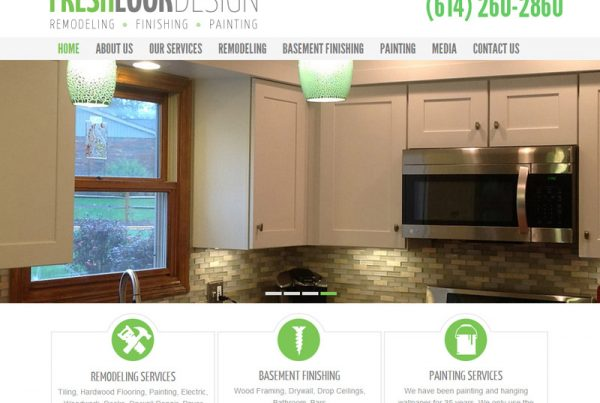 Fresh Look Design - Interior & Exterior Design Website