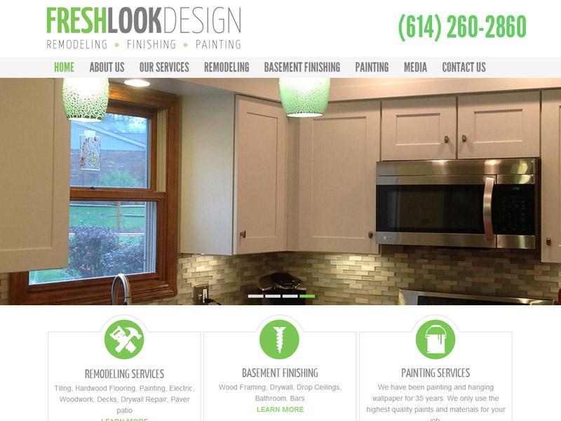 Fresh Look Design - Interior & Exterior Design Website