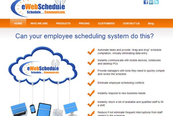 eWebSchedule - Online Scheduling and Communication Website