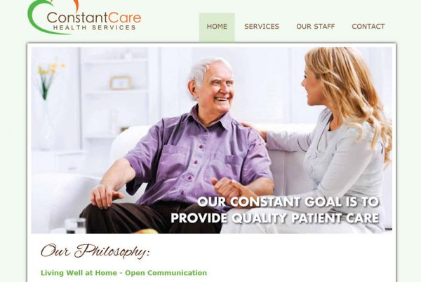 Constant Care Health Services - Health Website