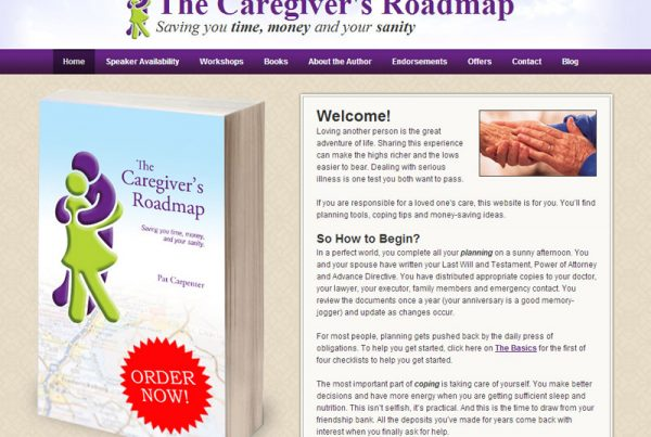 The Caregiver's Roadmap - Book Website