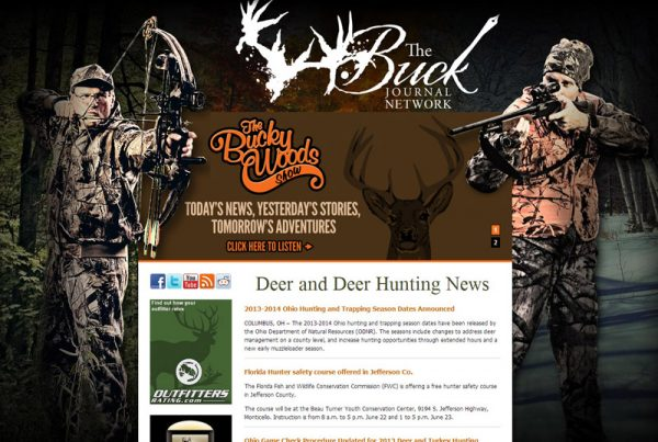 The Buck Journal - Online Radio and Magazine Website