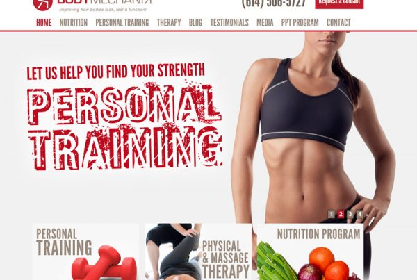 Body Mechanix - Fitness and Health Information Website