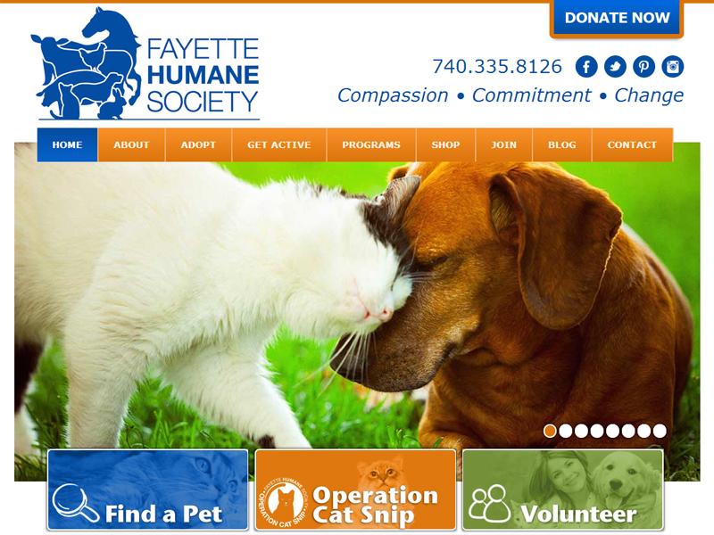 Fayette Humane Society - Humane Society Website