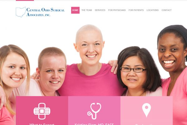 COSA Breast - Medical Information Website