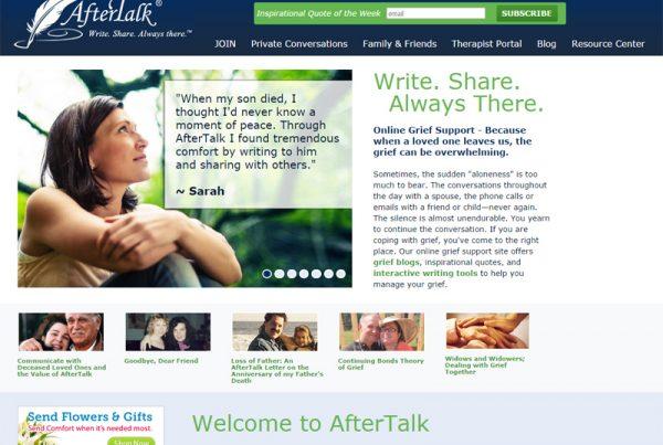AfterTalk - Discussion Website