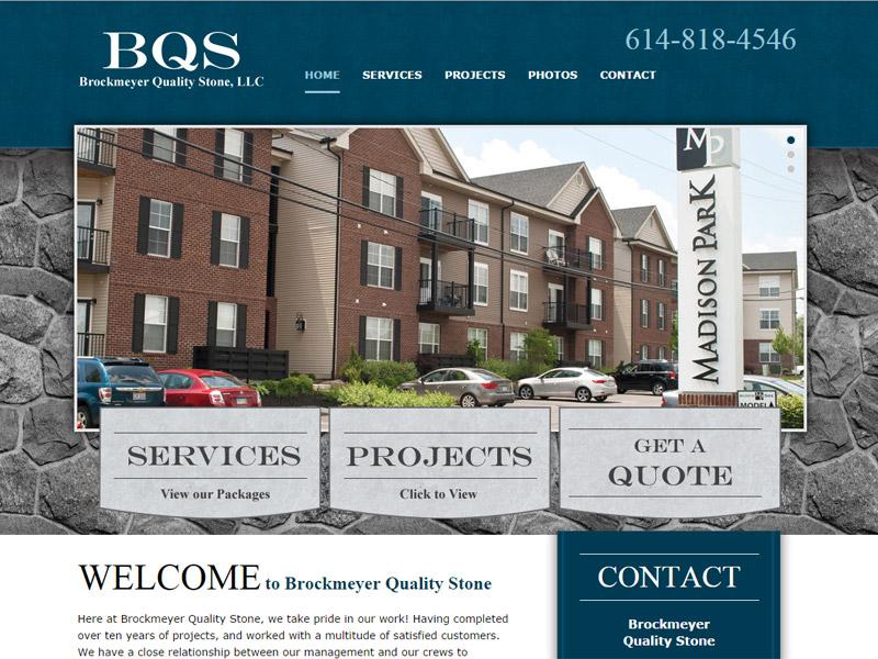 BQS - Brockmeyer Quality Stone, LLC - Masonry Website