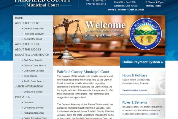 Fairfield County - Municipal Court Website