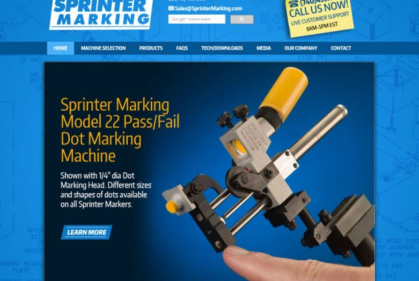 Sprinter Marking - Manufacturing and Technology Website