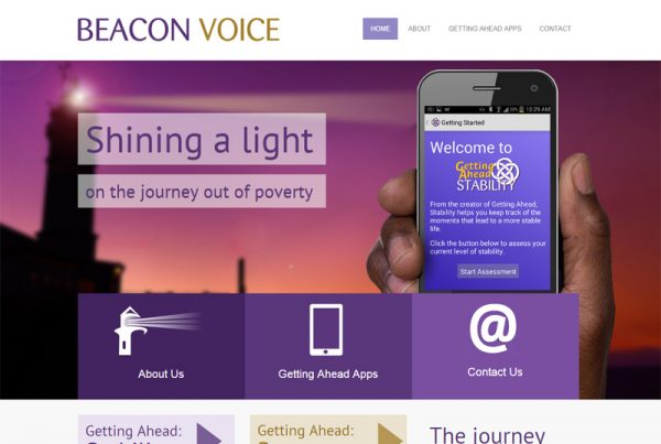 Beacon Voice - Mobile App Website
