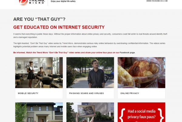 Trend Micro - Internet Security Website