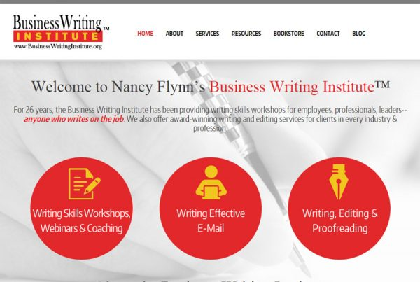 Business Writing Institute - Business Writing Website