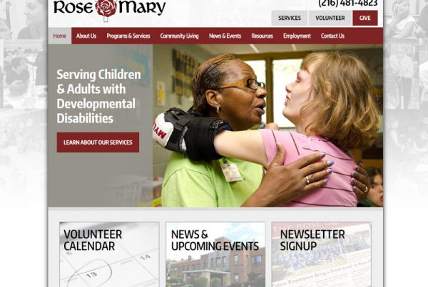 Rose-Mary Center - Disability Ministry Website