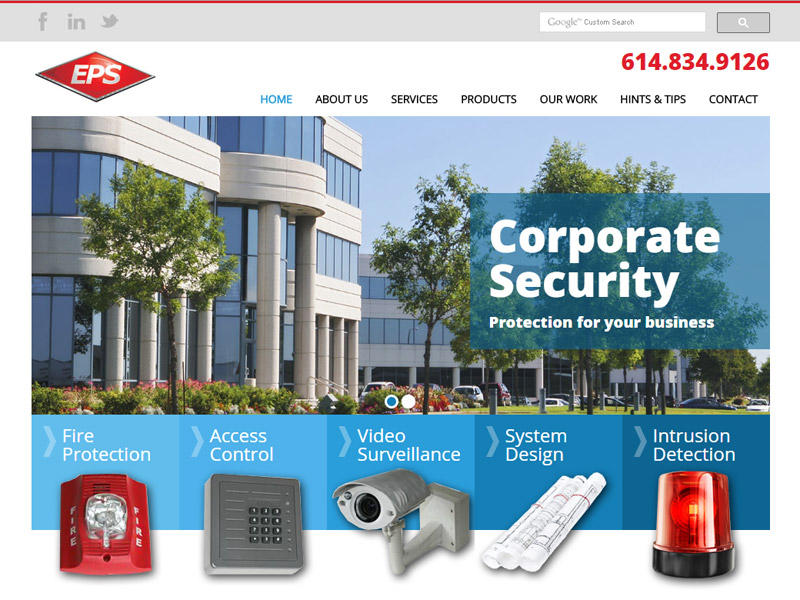 EPS - Security and Technology Website